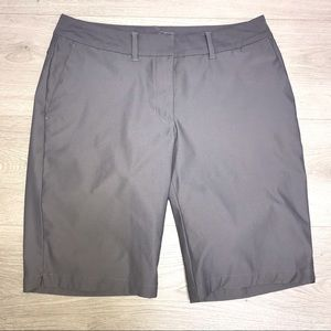 Women's Nike Dri-Fit Gray Golf Shorts 4